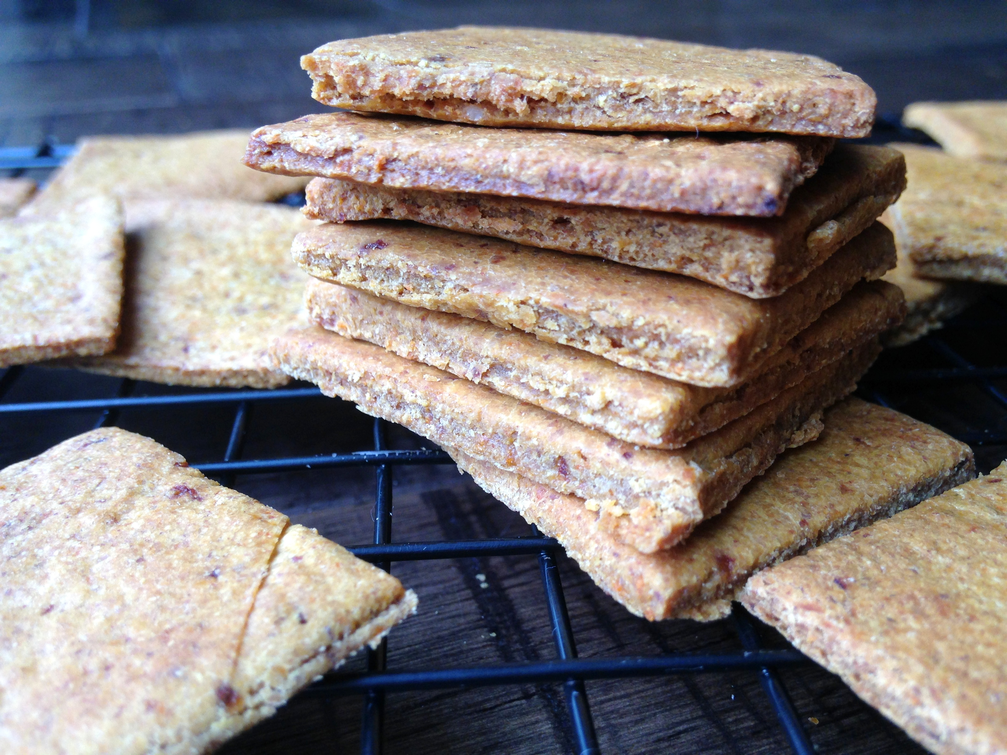 Carrot Cake Crackers