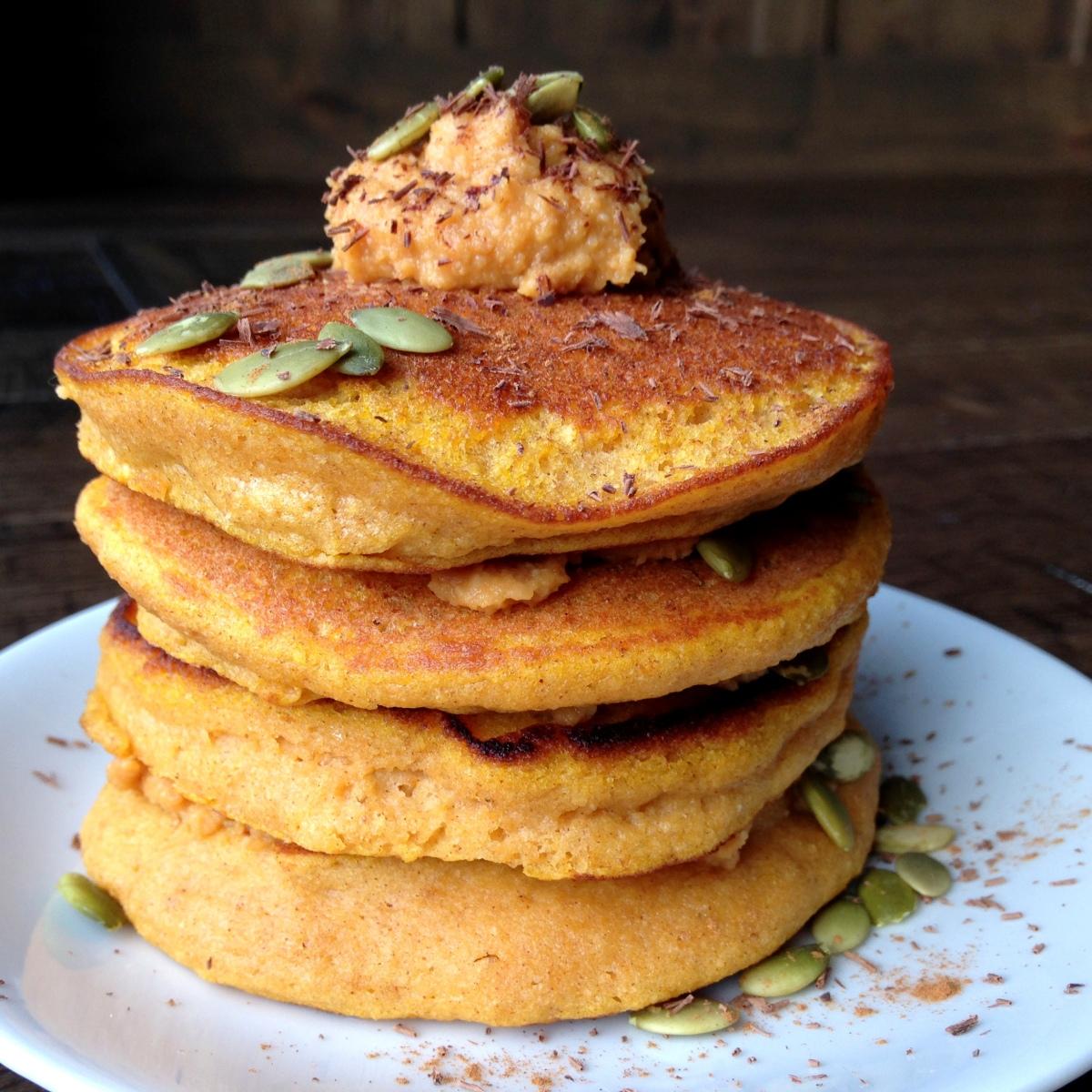 Paleo Pumpkin Pancakes