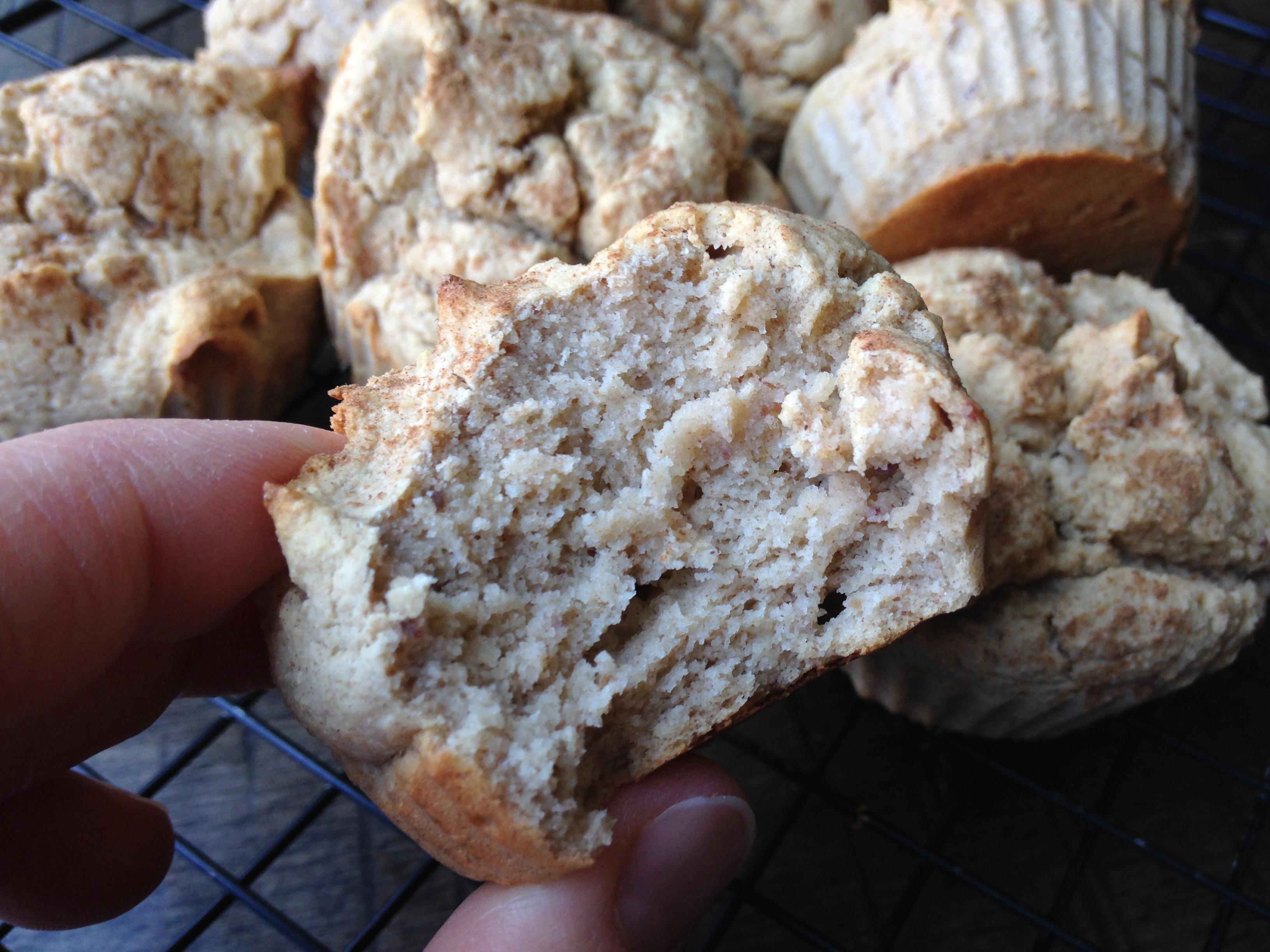 Cinnamon Cassava Muffins