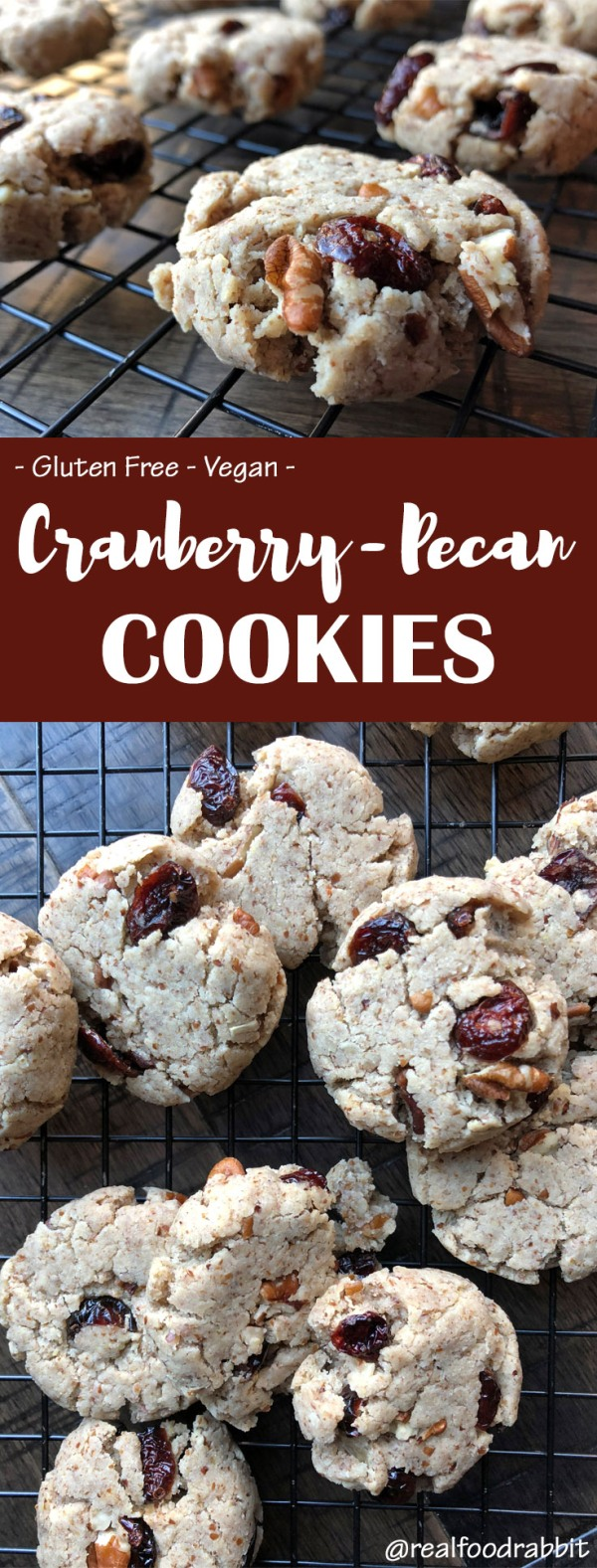 cranberry pecan cookie