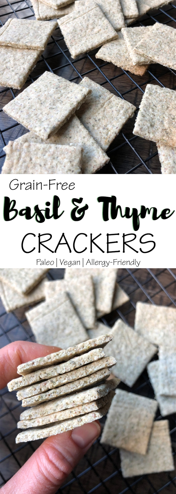 Basil & Thyme Grain-Free Crackers