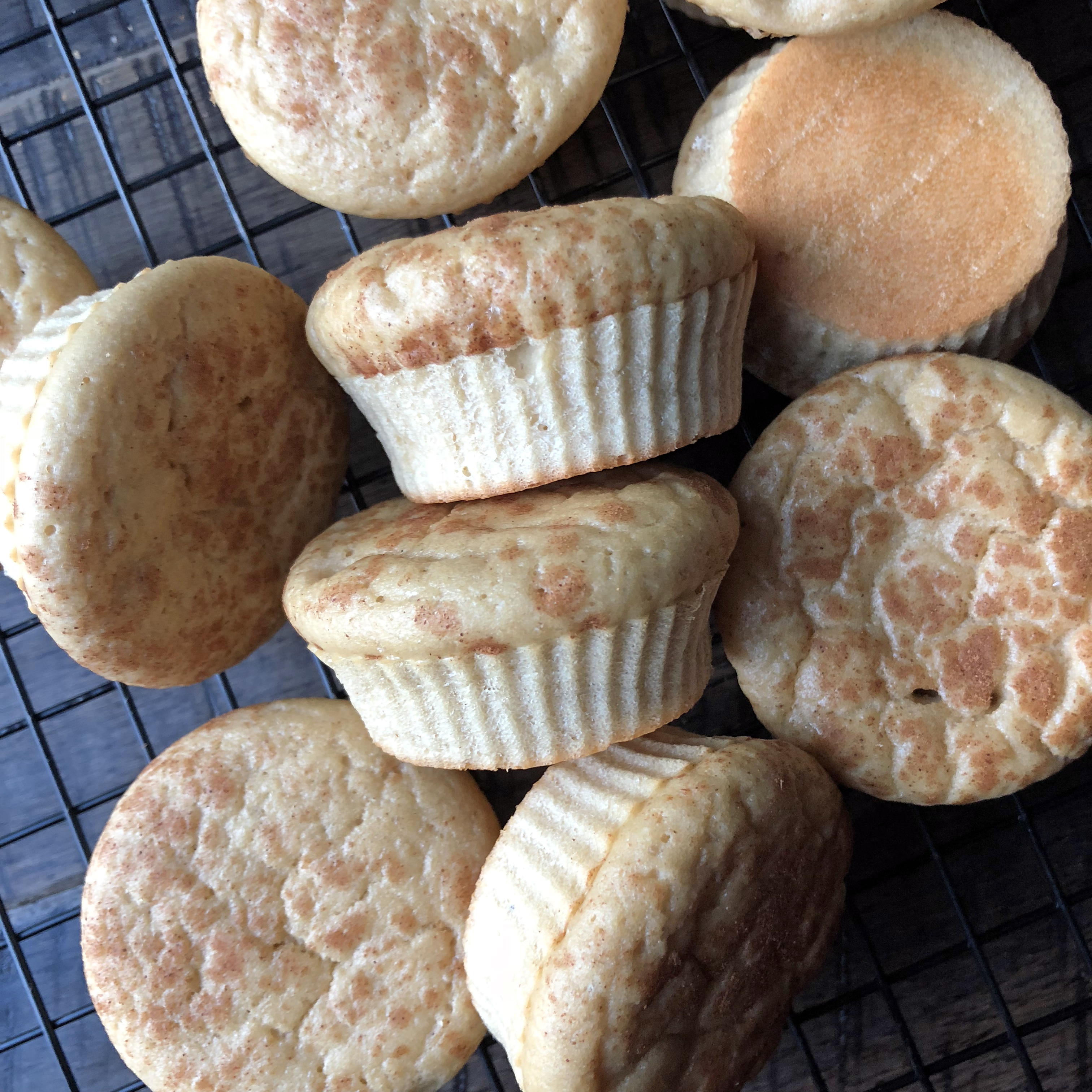 Vanilla Protein Muffins