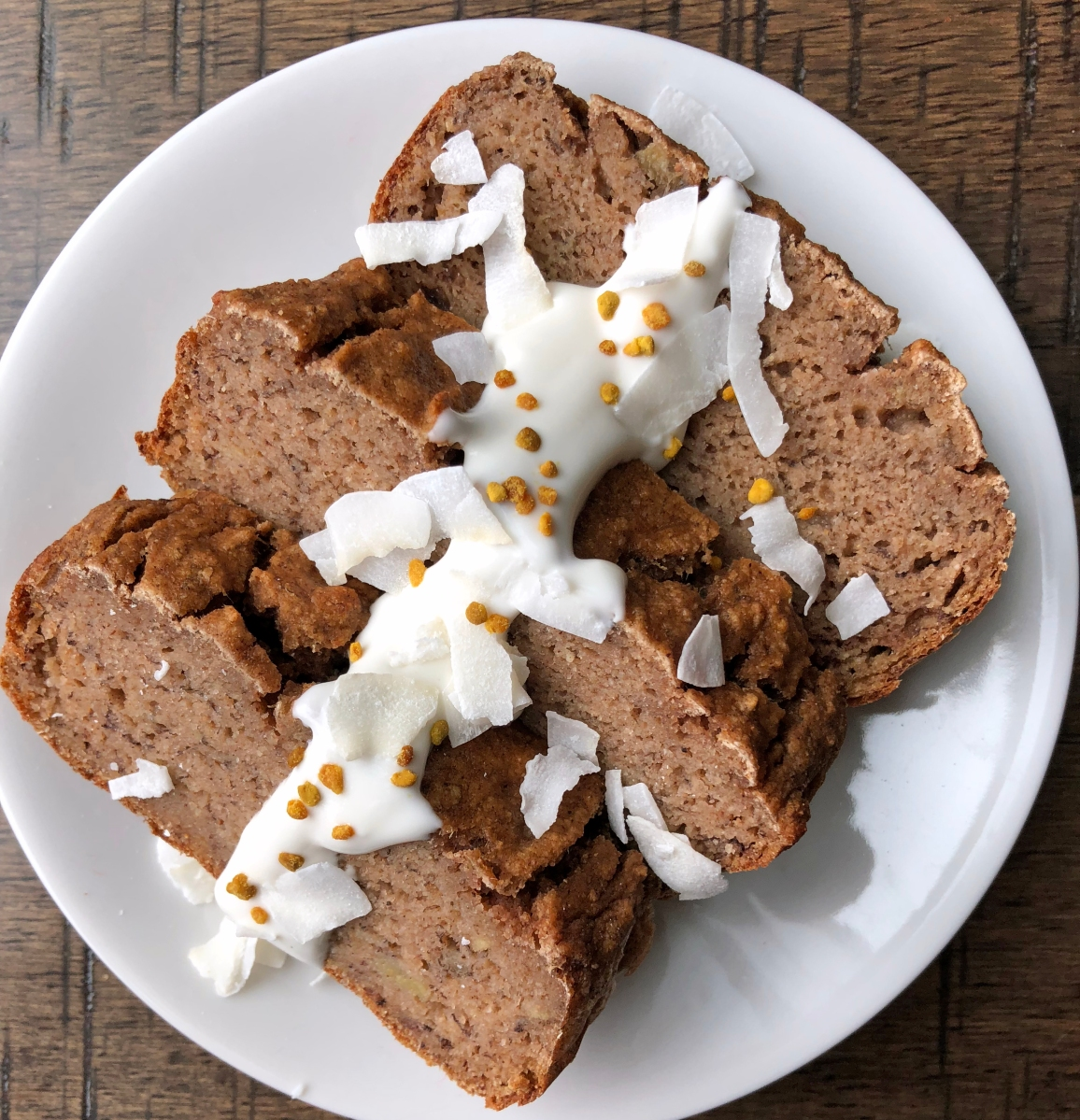Grain Free Ginger-Banana Bread