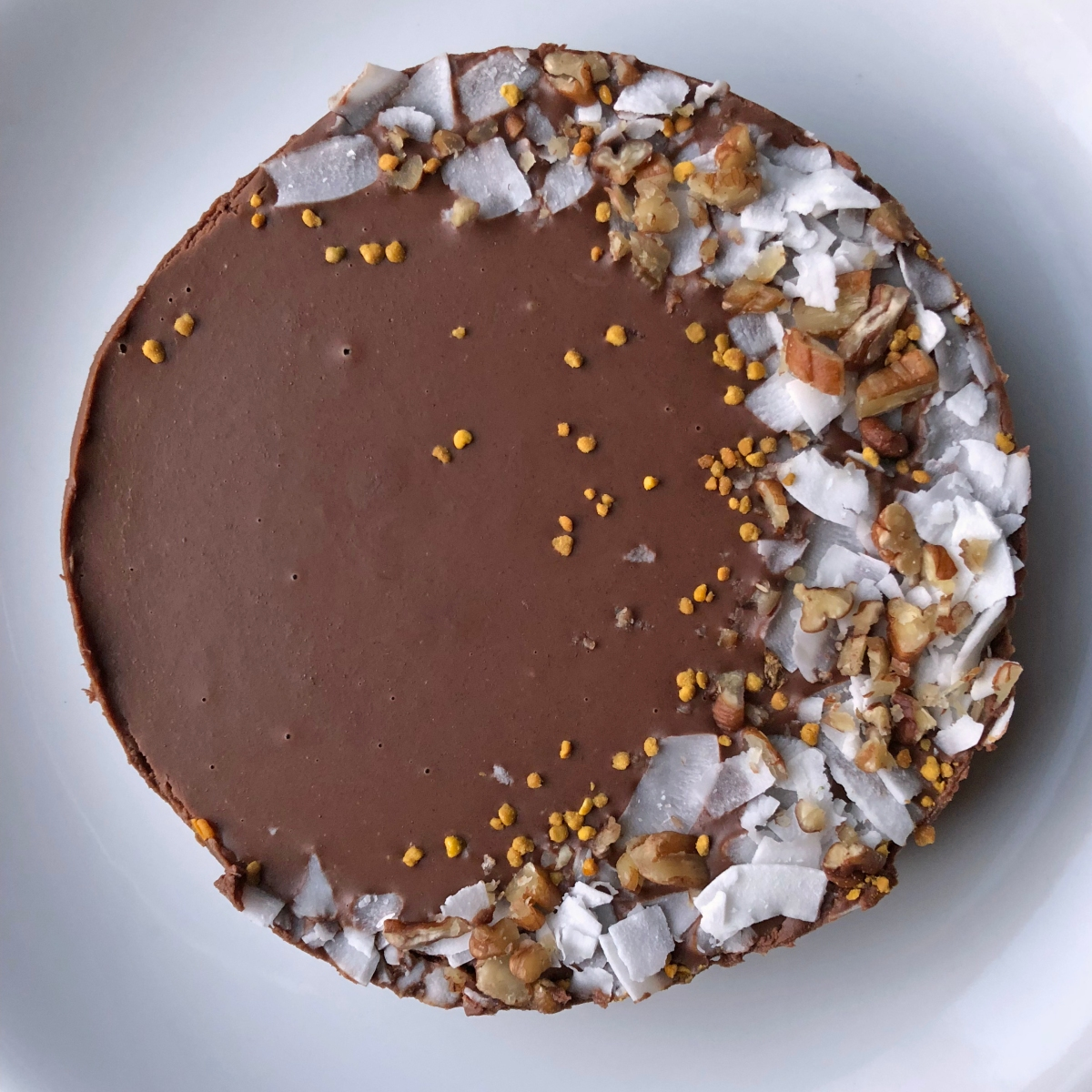 No-Bake Paleo Chocolate Torte