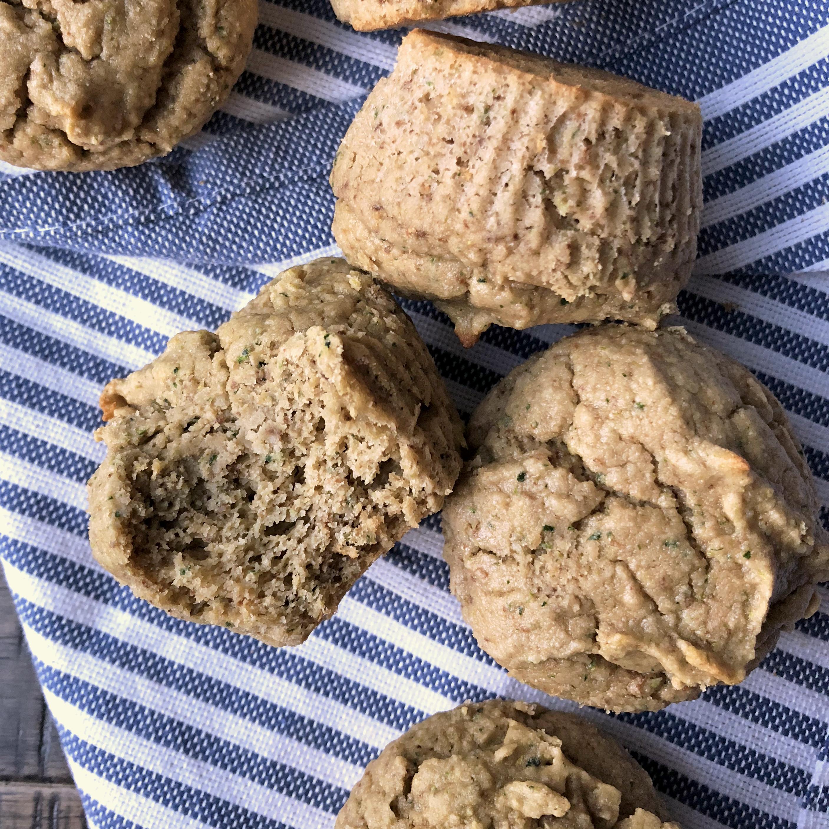 Cassava Zucchini Muffins