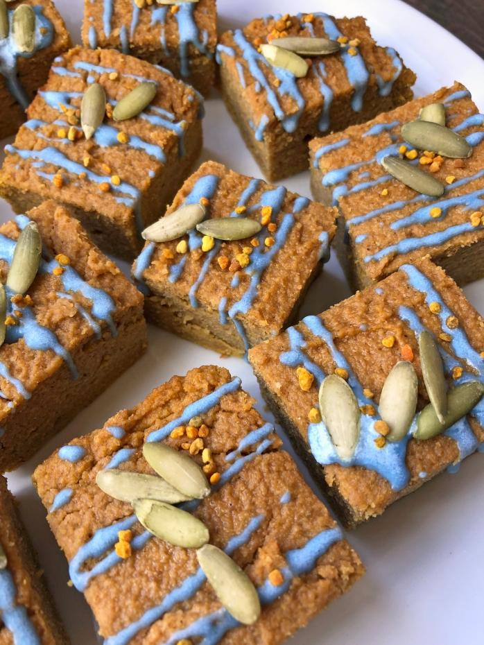 Tigernut Flour Pumpkin Bars (2)