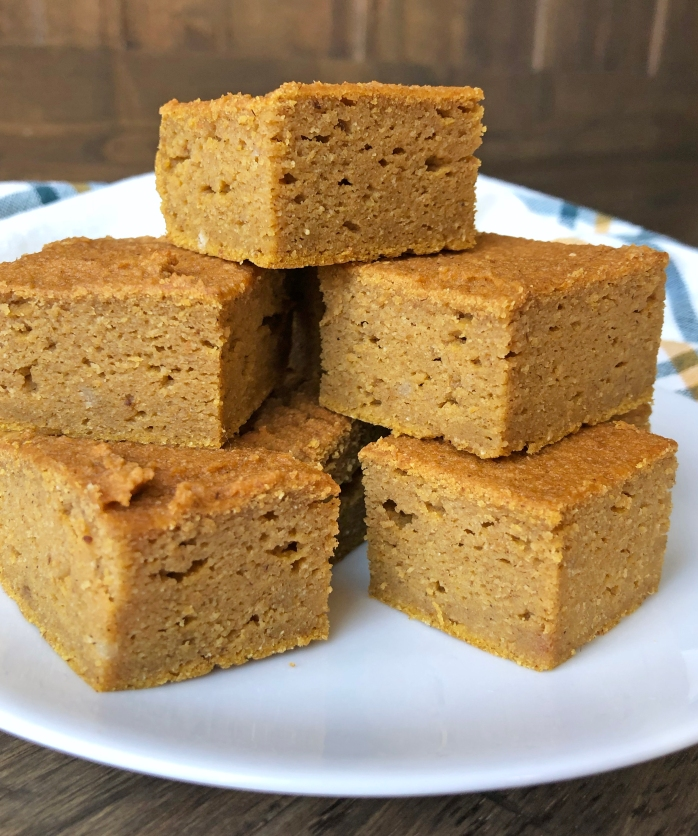 Tigernut Flour Pumpkin Bars (5)