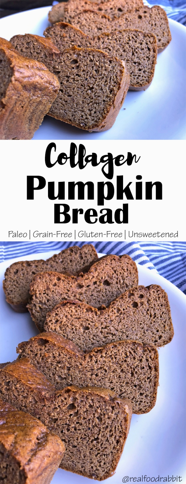 Collagen Pumpkin Bread