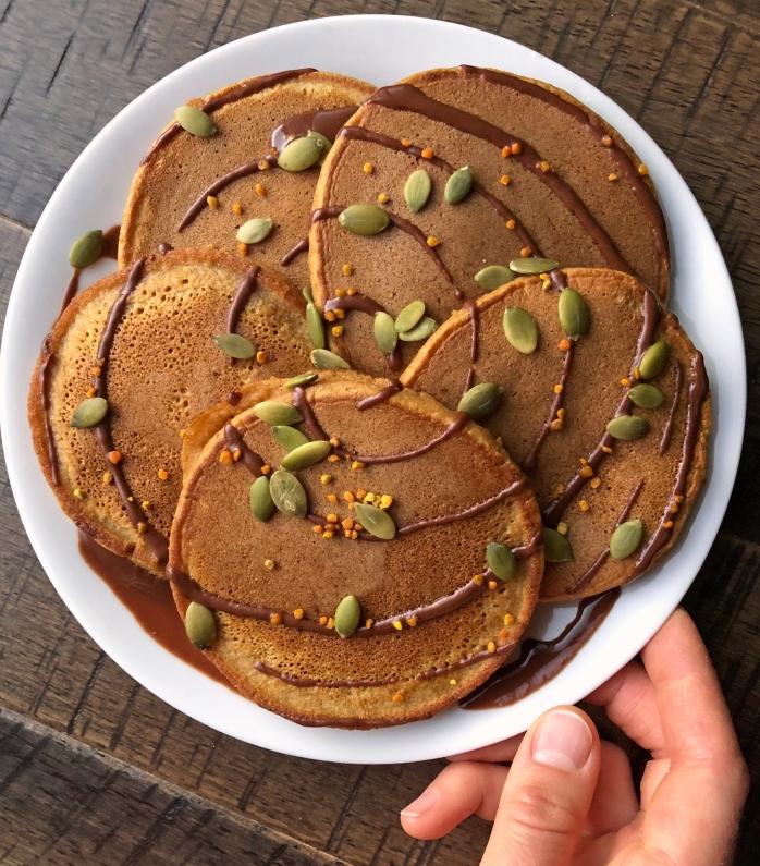 Pumpkin Cassava Pancakes (3)