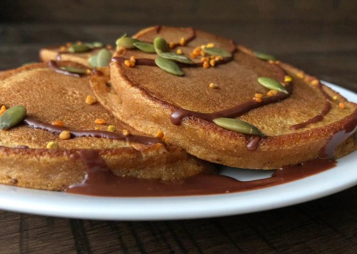 Pumpkin Cassava Pancakes (5)