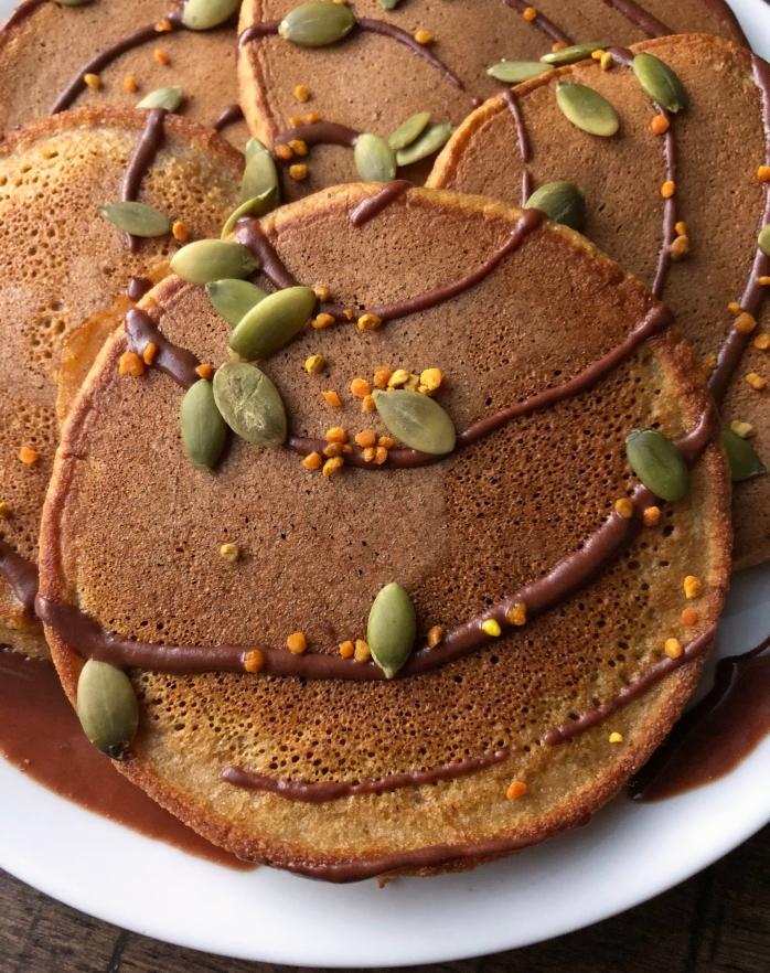 Pumpkin Cassava Pancakes (6)