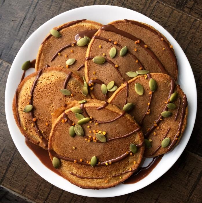 Pumpkin Cassava Pancakes (7)