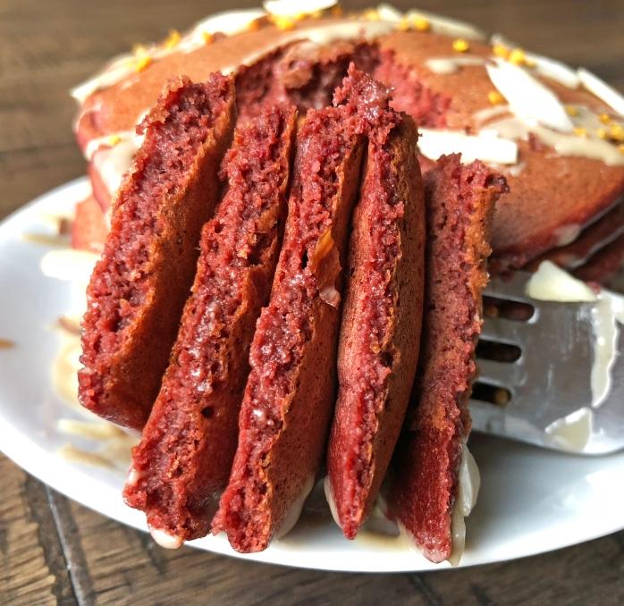Red Velvet Pancakes (6)