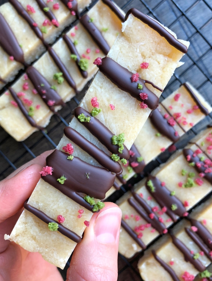 Healthy Peppermint Protein Bars (5)